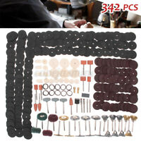 342Pcs Rotary Accessories Polishing Grinding Kit Set Cutting For Dremel Tools