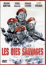 DVD - LES OIES SAUVAGES - Richard Burton - Roger Moore