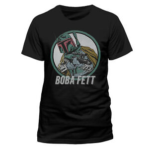 Star Wars Boba Fett T Shirt The Mandalorian NEW OFFICIAL S M L XL