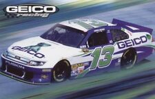 """2012 Casey Mears Geico """"2nd issued"""" Ford Fusion NASCAR postcard"""