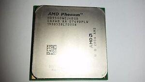 AMD Phenom X4 9500 - Quad-Core (HD9500WCJ4BGD) Prozessor + Wärmeleitpaste