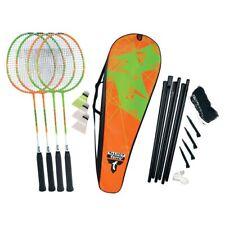Talbot Torro Badminton Set 4 Attacker Plus mit Thermobag