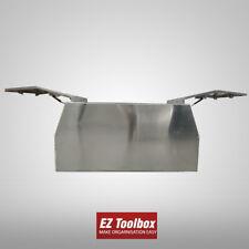 Flat Plate Aluminium Canopy Gullwing Tool Box Ute Tray Toolbox 1780x1100x850mm
