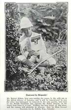 1907 Mr Robert Abbott, Salonica Kidnapped By Brigands
