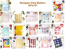 Designer Poly Mailers Plastic Envelopes Fun Shipping Bags Self Adhesive 10x13