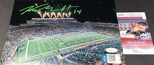 Kyle Hamilton Notre Dame Fighting Irish Auto Signed 8x10 Fireworks Clemson Game