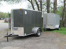 NEW 5x8 V-Nose Enclosed Cargo Trailer w/Ramp Pick up in MA or NH