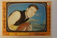 Richmond Tigers Vintage 1967 AFL-VFL Scanlens Football Card Bill Barrot