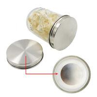10Pcs Reusable Silicone Airtight Sealing Rings Gaskets Leak Mason/Ball/Kerr Jar