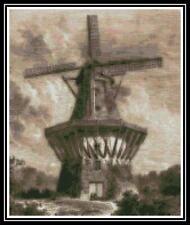Windmill - Cross Stitch Chart/Pattern/Design/XStitch