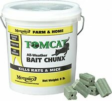 All Weather Rat & Mice Bait Effectively Kills Rodents in just 4 to 6 days (9lb)