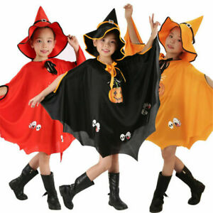 Halloween Baby Toddler Kids Pumpkin Costume Fancy Dress Party Cosplay Outfit Hat