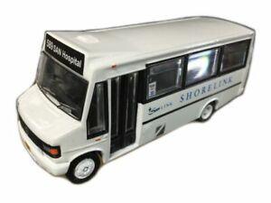 Trux 1:76 TX14C Mercedes Minibus Route 589 SAN Hospital Shorelink - NEW