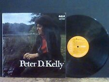 PETER D. KELLY  Peter D. Kelly   LP   with Fiachra Trench    Lovely copy  !!