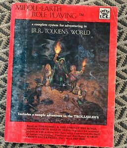 Middle-Earth Role Playing 1984 Edition (Iron Crown Enterprises) Good Condition