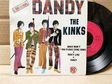 The Kinks – Dandy   - 45T VG++/EX PNV 24177