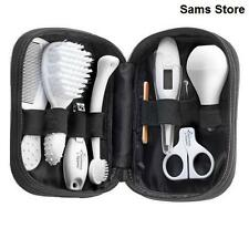 Baby Grooming Set Newborn Healthcare Kit Bag Brush Comb Scissors Thermometer