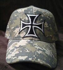 Iron Cross Camouflage Hat Silver Cross Camo Hat
