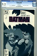 Batman #407 CGC 9.2 Near Mint. Batman Year One Part 4.