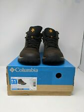 Columbia Men's Newton Ridge Plus II Waterproof Hiking Boots size 11.5 Cordovan