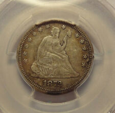 1872 SEATED LIBERTY QUARTER,   PCGS  VF 25