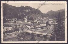 BERGAMO SAN PELLEGRINO TERME 101 PONTE Cartolina viaggiata 1935