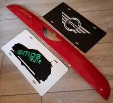 MINI F56 Chili Rosso Gloss Boot Maniglia Cover, Gen 3 De-Chrome Cooper S JCW