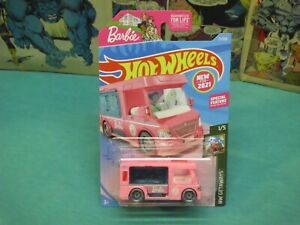 2021 hot wheels barbie dream camper new model