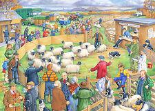 La maison de puzzles - 250 Gros Morceau Jigsaw Puzzle-moutons vente-Big PIECES