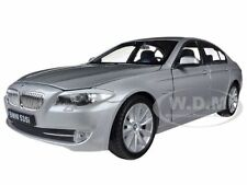 2010 BMW (F10) 535i 5 SERIES GREY 1/24 DIECAST MODEL CAR BY WELLY 24026