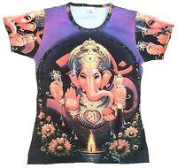 WoW GANESHA GANESH Hindu Elefantengott Religion Tattoo Star Designer T-SHIRT g.M