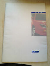 New Fiat Coupe Brochure - 24 Page - June 1995