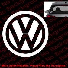 Die Cut Vw Volkswagen Logo Gti Window/Bumper/Laptop Vinyl Sticker Decal Rc084