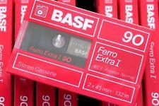 BASF FERRO EXTRA I 90 NORMAL POSITION TYPE I BLANK AUDIO CASSETTE - 1988