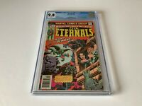 ETERNALS 4 CGC 9.8 WHITE PAGES 2ND APPEARANCE SERSI MARVEL COMICS 1976