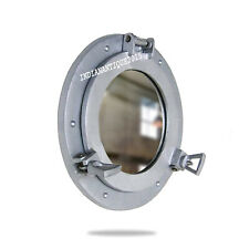 "12"" Porthole Round Window Glass Nautical Boat Ship Porthole Mirror"