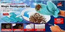 Cleanmaxx Magic Reinigungshandschuh Reinigungsset Hightech-Microfaser Viskose*