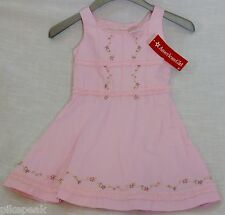 Sundress sleeveless above knee by American Girl Lg (6) Pink everyday cotton