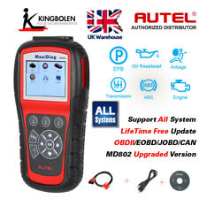 MD805 OBDII Code Reader For ALL System EPB/OLS Model  Autel MaxiDiag Elite MD802