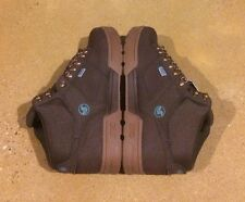 DVS Westridge Size 9.5 Brown Gum Nubuck BMX DC MOTO Snow Series Boots $95