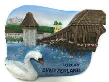 LUZERN SWITZERLAND SOUVENIR RESIN 3D FRIDGE MAGNET SOUVENIR TOURIST GIFT TOY 028
