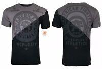 AMERICAN FIGHTER Mens T-Shirt ALLPORT PANEL TEE Premium Athletic MMA Gym 18 $40