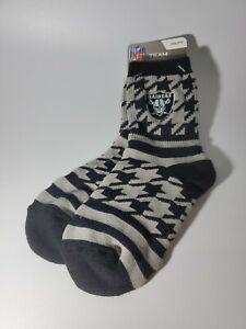 NFL Oakland / Las Vegas Raiders Team Logo Youth Socks Size 13,1-5 New