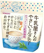 New Japan WAKODO gyu-nyu-yasan decafe milk tea Powder type