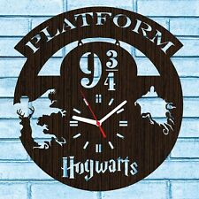 Harry Potter Clock Christmas Gifts Merchandise Decor Hogwarts Collectibles Art