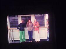 slide 1975 California Anaheim Disneyland Amusement Park ticket booth front women