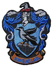 Harry Potter Ravenclaw Crest Embroidered Patch Officially Licensed