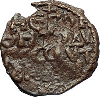 CRUSADERS of Antioch Tancred Ancient 1101AD Byzantine Time Coin St Peter i69661