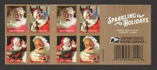 UNITED STATES 2018 SANTA CLAUS COCA COLA POSTER BOOKLET PANE OF 20 STAMPS MINT