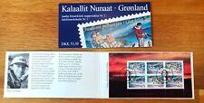 Greenland Christmas Stamp Booklet #02 1997 Sledge Dog Santa - FDC - EXCELLENT!